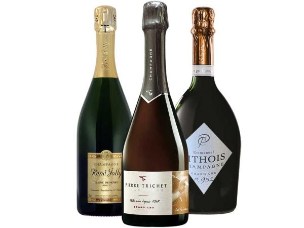 Pinot Noir Champagner 3er-Paket