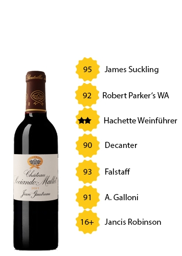 Château Sociando-Mallet 2014 (0,375l)