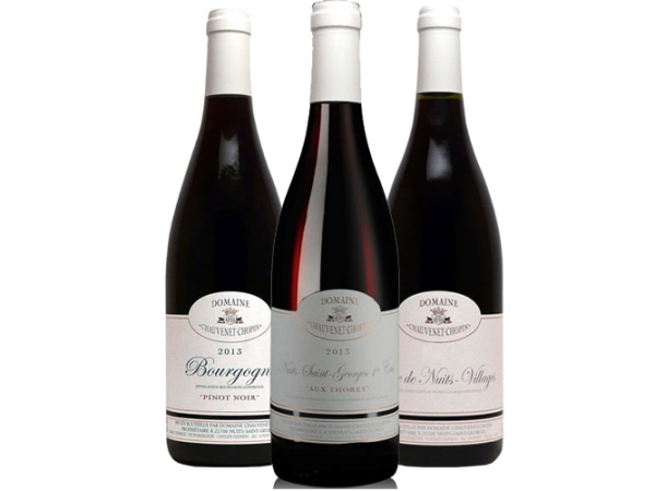 Burgunder Rotwein 3er-Paket