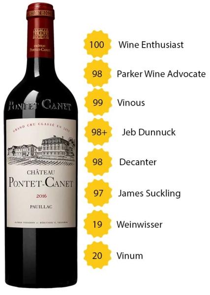 Château Pontet Canet 2016 - 5. Grand Cru Classé - Pauillac