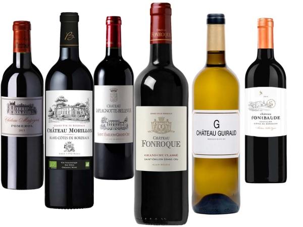 Bordeaux BIO 6er Probierpaket