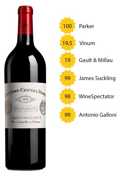Château Cheval Blanc 2015 - 1e Grand Cru Classé A, St. Emilion
