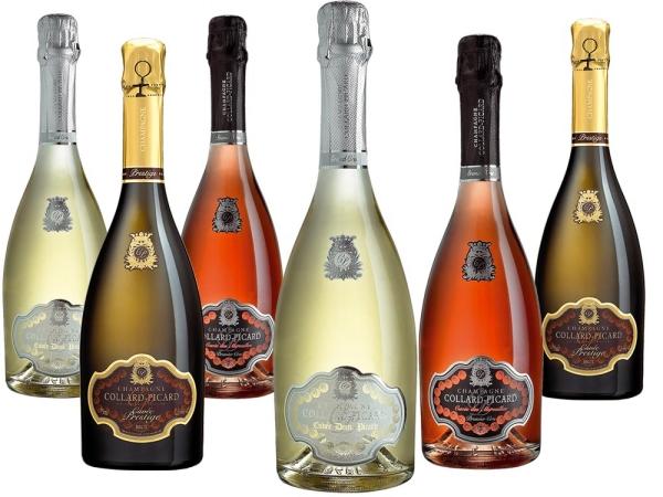 Champagne Collard-Picard-Paket inkl. Kerze - Jaguar Club