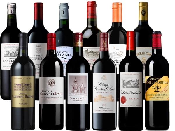 Bordeaux 2016 12er-Probierpaket
