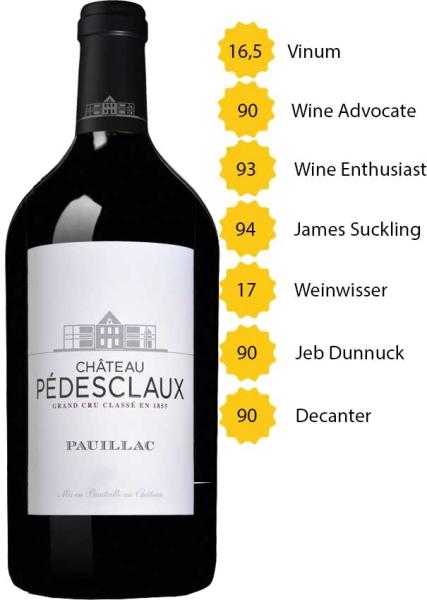 Doppelmagnum 2015 Château Pedesclaux - 5. Grand Cru Classé - Pauillac