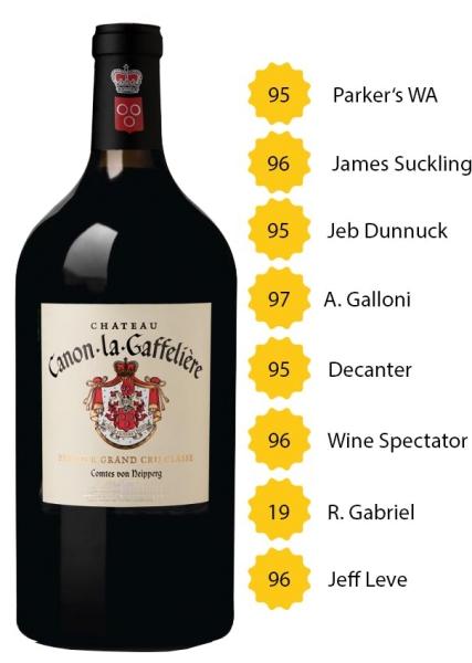 Château Canon La Gaffelière 2018 (3l) - BIO