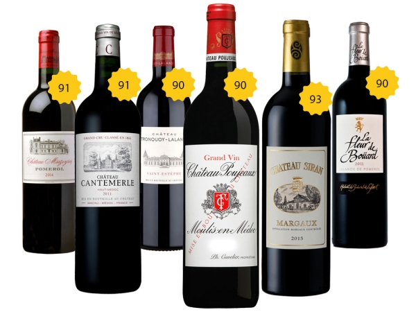 90+ Parker Bordeaux Paket