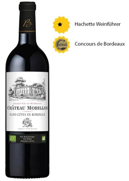 Château Morillon 2017 - Blayes Côtes de Bordeaux