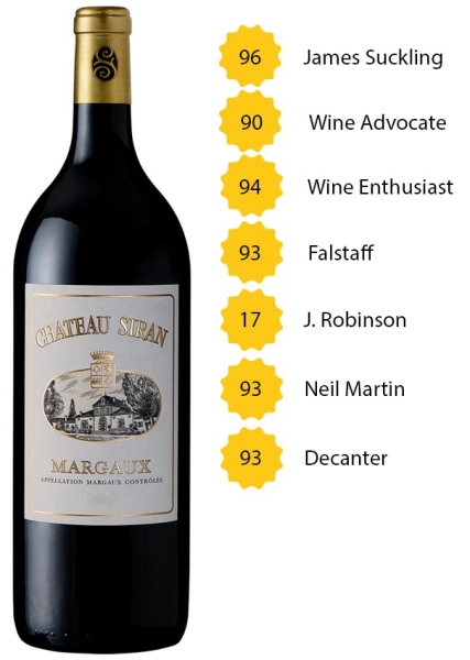 Magnum Château Siran 2016 - Margaux