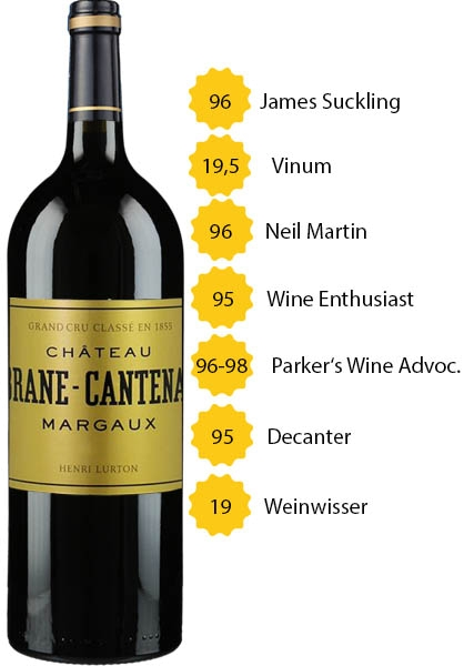 Magnum Château Brane Cantenac 2016 - 2. Grand Cru Classé - Margaux