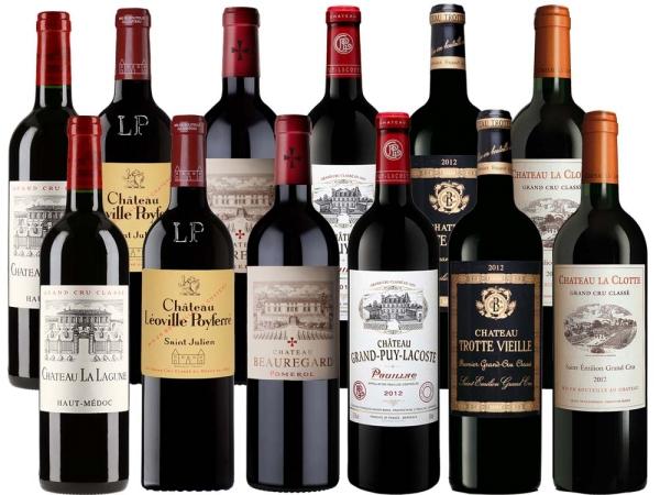Bordeaux 2012 12er-Probierpaket