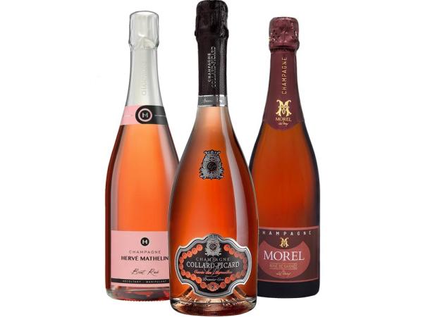 Rosé Champagner 3er-Paket