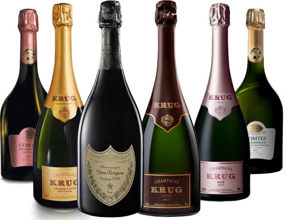 Champagner-Legenden Paket