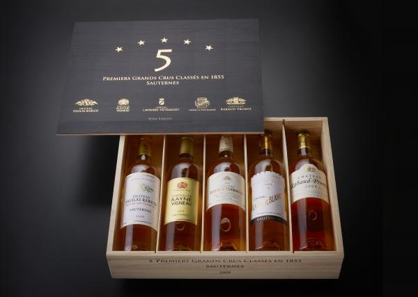 Sauternes 2009 - 1. Grand Cru - Prestige Kiste