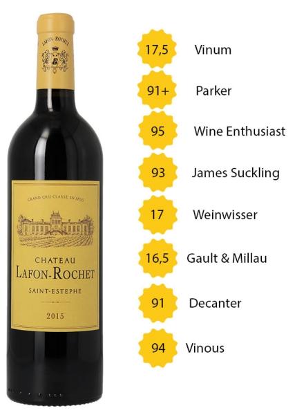 Château Lafon Rochet 2015 - 4e Grand Cru Classé - Saint-Estèphe