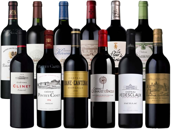 Bordeaux 2014 12er-Probierpaket