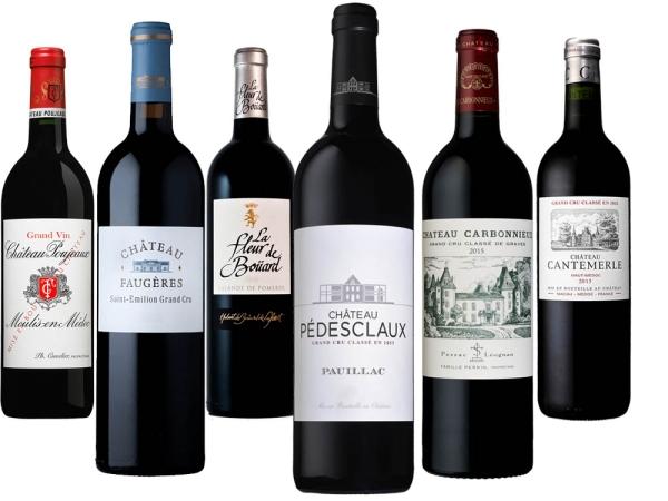 Bordeaux 2015 6er Paket - Jaguar Club