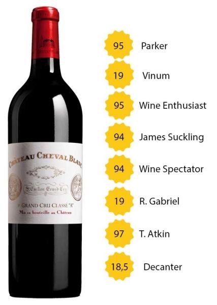Château Cheval Blanc 2011 - 1e Grand Cru Classé A, St. Emilion