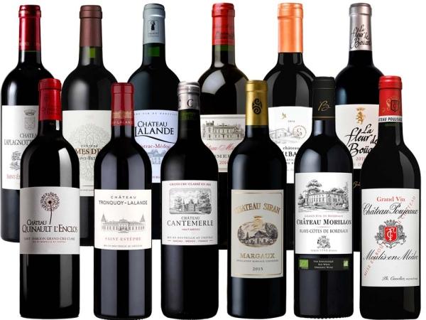 Bordeaux Entdeckungspaket 12er-Probierpaket