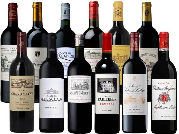 Bordeaux 2015 12er-Probierpaket