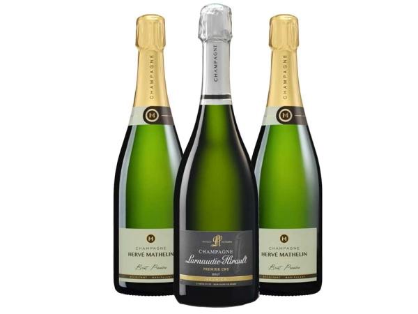 Pinot Meunier Champagner 3er-Paket