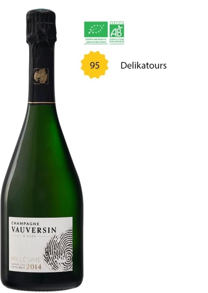 "Cuvée ""Rossignol"" Millésime 2014 Grand Cru | Blanc de Blancs Extra Brut | BIO"
