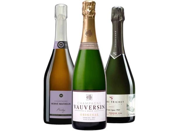 Chardonnay Champagner 3er-Paket