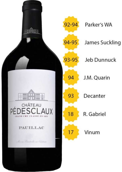 Château Pedesclaux 2018 (3l)