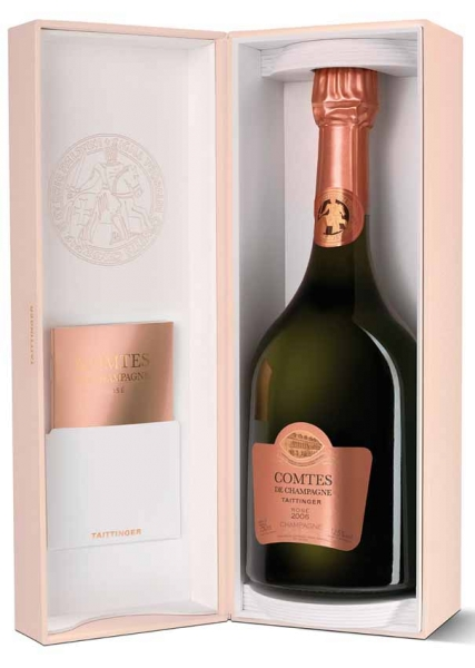 Comtes de Champagne Rose 2007 in GP