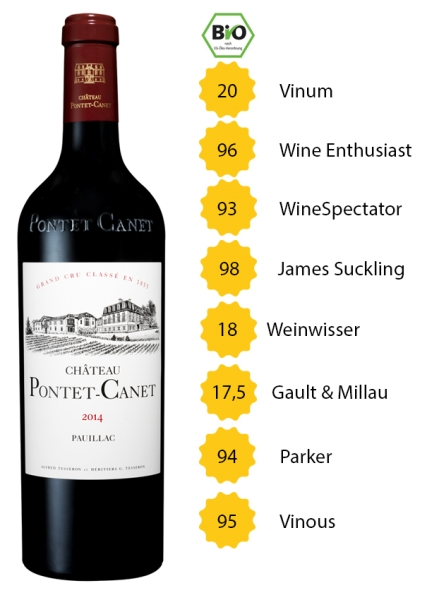 Château Pontet Canet 2014 - 5. Grand Cru Classé - Pauillac