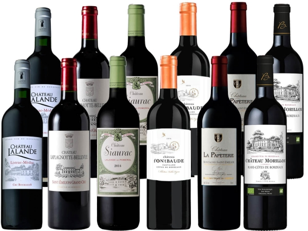 Bordeaux für jeden Tag 12er-Probierpaket